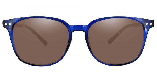Ravine Oval Prescription Glasses - Blue