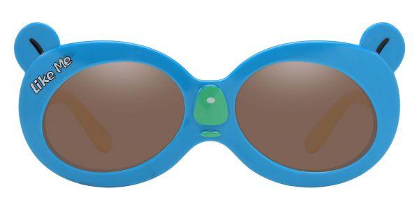 Tito Oval Prescription Glasses - Blue-1