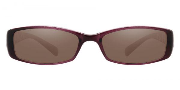 Medora Rectangle Prescription Glasses - Purple-1