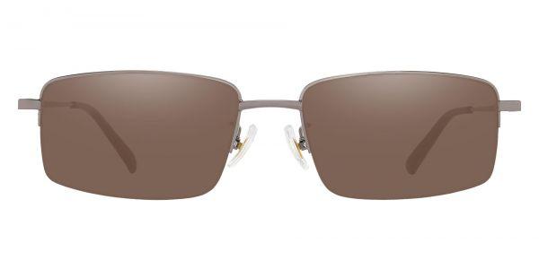 Wayne Rectangle Prescription Glasses - Gray-1