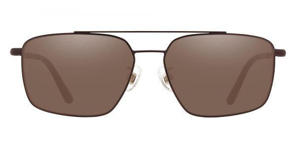 Barlow Aviator Prescription Glasses - Brown-1