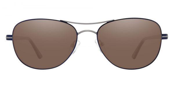 Reeves Aviator Prescription Glasses - Blue-1