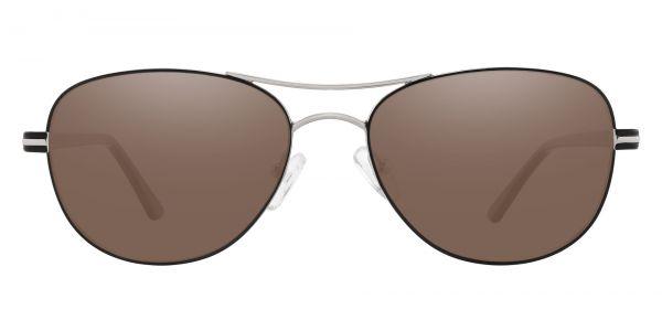 Reeves Aviator Prescription Glasses - Silver-1