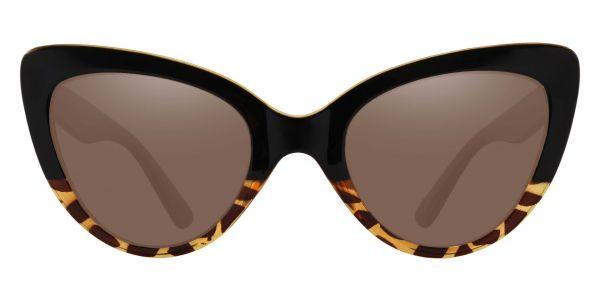 Melinda Cat Eye Prescription Glasses - Black-1