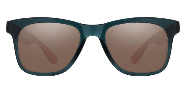 Hurley Square Prescription Glasses - Green-1
