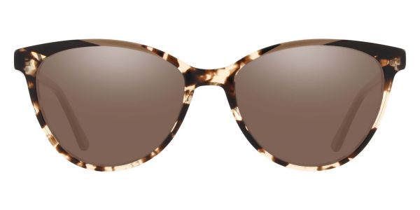 Ravenna Cat Eye Prescription Glasses - Two-tone/Multi Color-1