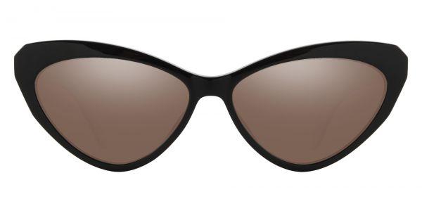 Clovis Cat Eye Prescription Glasses - Black-1