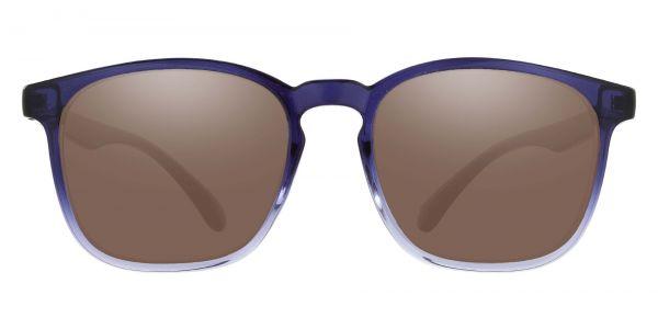 Gateway Square Prescription Glasses - Blue-1