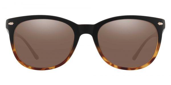 Pavilion Square Prescription Glasses - Black-1