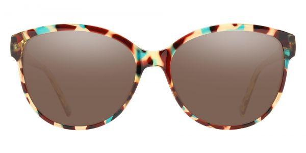 Rabia Oval Prescription Glasses - Two-tone/Multi Color-1