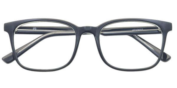 Windsor Rectangle Prescription Glasses - Black