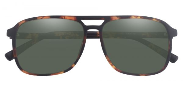 Edward Aviator Prescription Glasses - Tortoise-2