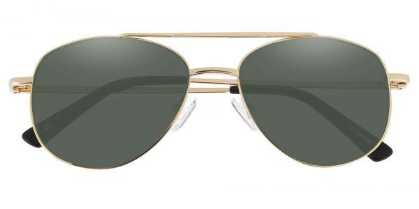 Dwight Aviator Prescription Glasses - Yellow-2