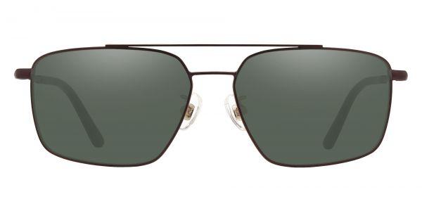 Barlow Aviator Prescription Glasses - Brown-2