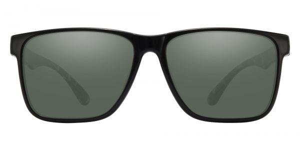 Barnum Square Prescription Glasses - Black-2