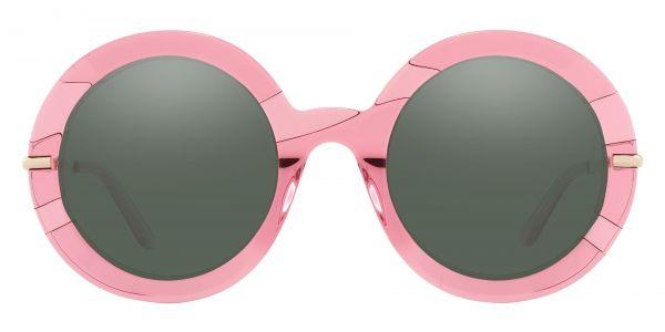 Pristine Round Prescription Glasses - Pink-2