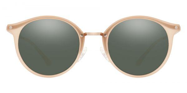 Biloxi Round Prescription Glasses - Brown-2