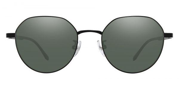 Beatrice Geometric Prescription Glasses - Black-2