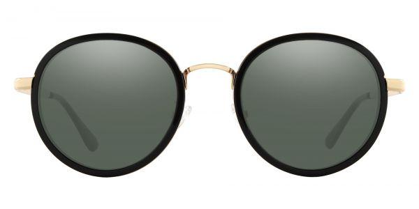 Bosco Round Prescription Glasses - Black-2