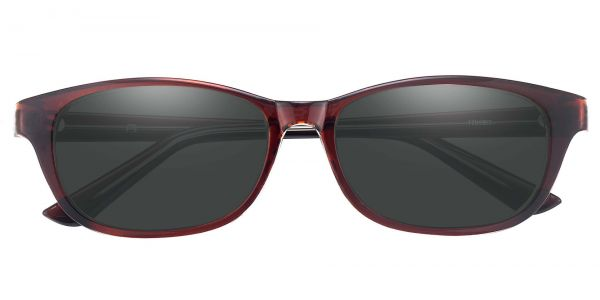 Reyna Classic Square Prescription Glasses - Red