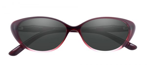 Josie Cat Eye Prescription Glasses - Red