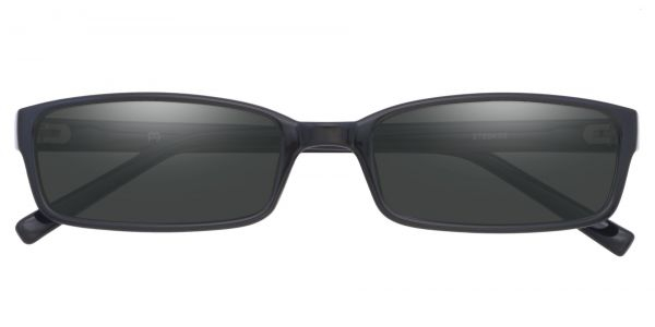 Sanford Rectangle Prescription Glasses - Black