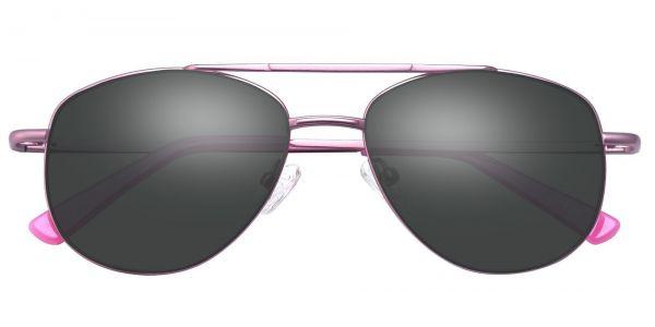 Dwight Aviator Prescription Glasses - Pink