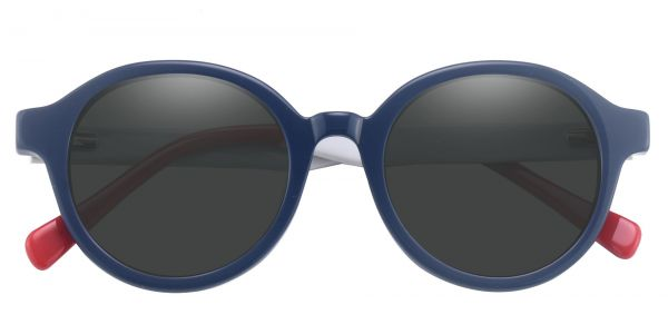 Roxbury Round Prescription Glasses - Blue