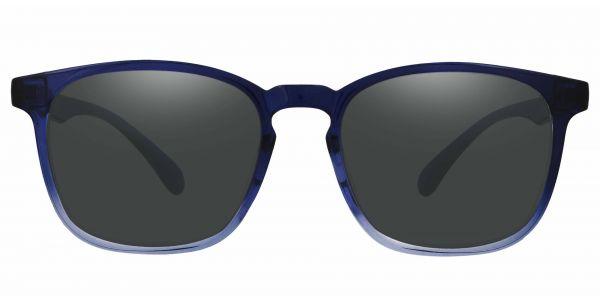 Dusk Classic Square Prescription Glasses - Blue-1