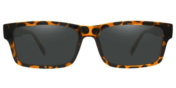 Eclipse Rectangle Prescription Glasses - Tortoise-1