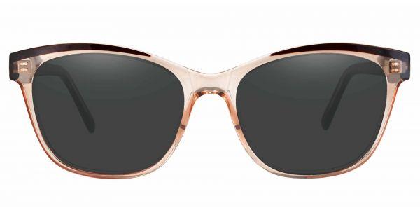 Arcadia Cat Eye Prescription Glasses - Brown-1