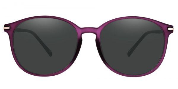 Danbury Oval Prescription Glasses - Purple
