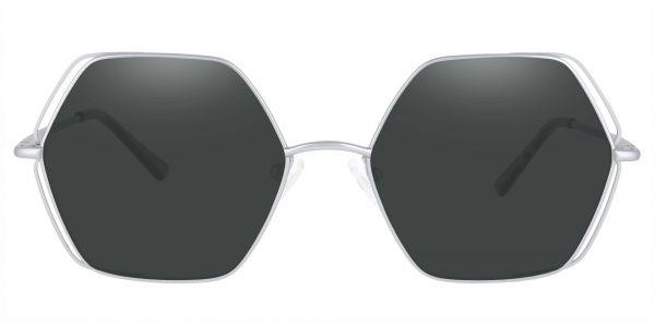 Hawley Geometric Prescription Glasses - Silver