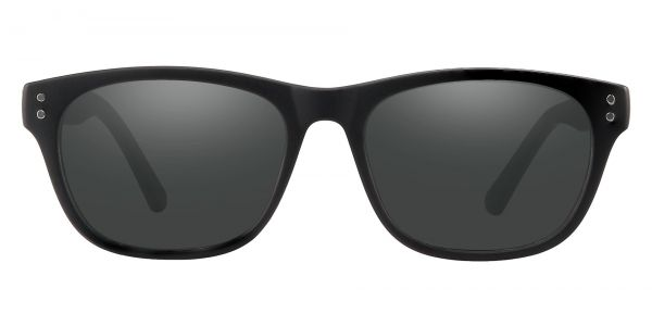 Citrus Rectangle Prescription Glasses - Black
