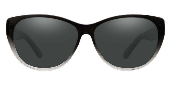 Lynn Cat-Eye Prescription Glasses - Gray-1