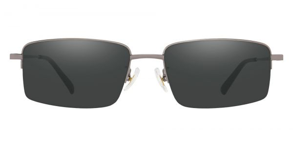 Wayne Rectangle Prescription Glasses - Gray