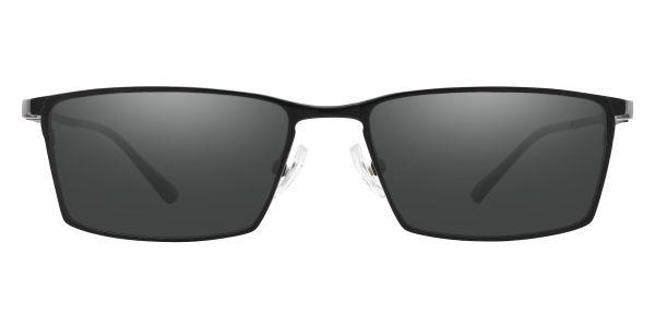 Elmore Rectangle Prescription Glasses - Black