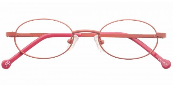 Lara Oval Eyeglasses For Kids