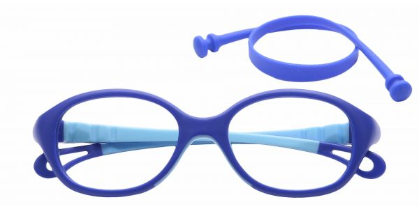 Quirk Oval Eyeglasses For Kids