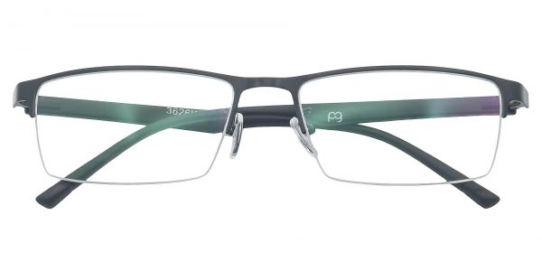 Ricky Rectangle Eyeglasses For Men