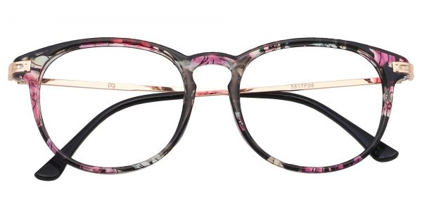 Rojo Round Eyeglasses For Women