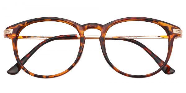 Rojo Round eyeglasses