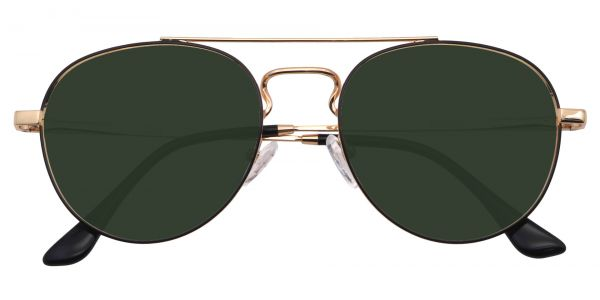 Trapp Aviator Women's Prescription Sunglasses