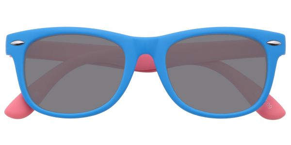 Wren Square Prescription Glasses - Blue