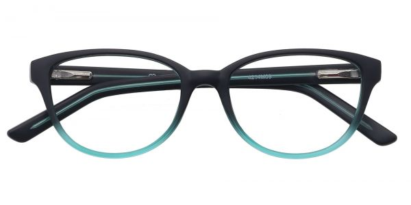 Lulu Oval Eyeglasses For Kids