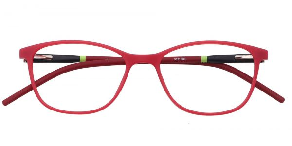 Hazel Oval Eyeglasses For Kids