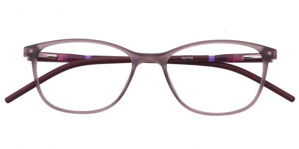 Hazel Square Eyeglasses For Women