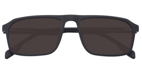 Hector Rectangle Prescription Glasses - Black-2
