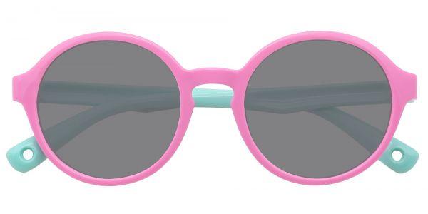 Cotton Candy Round eyeglasses