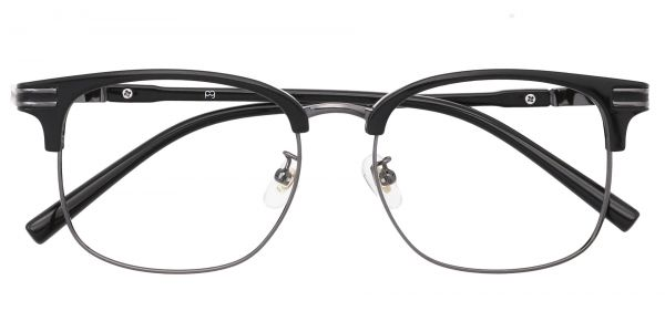 Cafe Browline Eyeglasses For Men